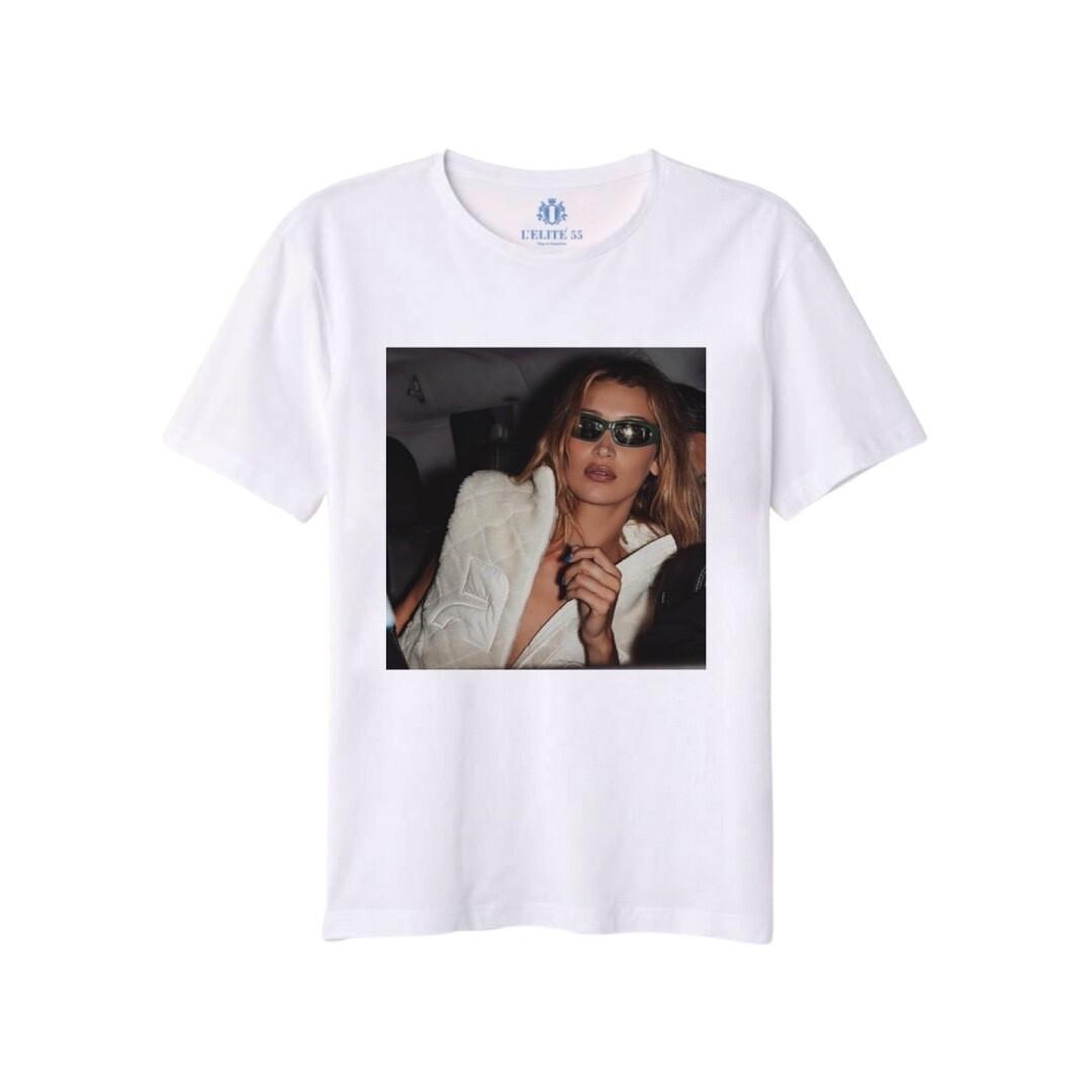 L'ELITÉ 55 - T-shirt stampa Sunglasses - Bianco