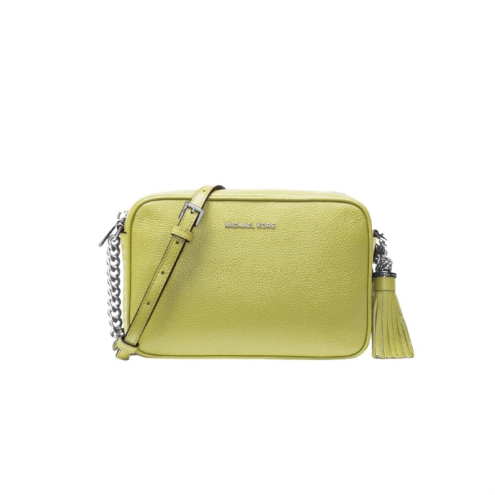 MICHAEL KORS - Tracolla Ginny in pelle - Limelight
