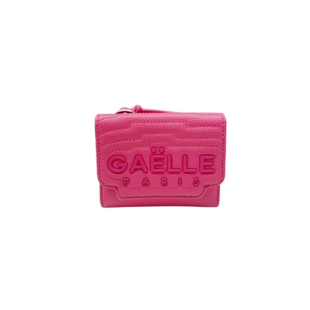 GAËLLE PARIS - Portafoglio logo medio - Fuxia