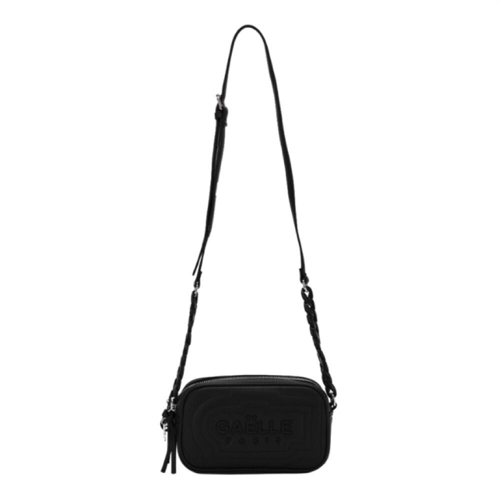 GAËLLE PARIS - Camera Bag doppia zip - Nero