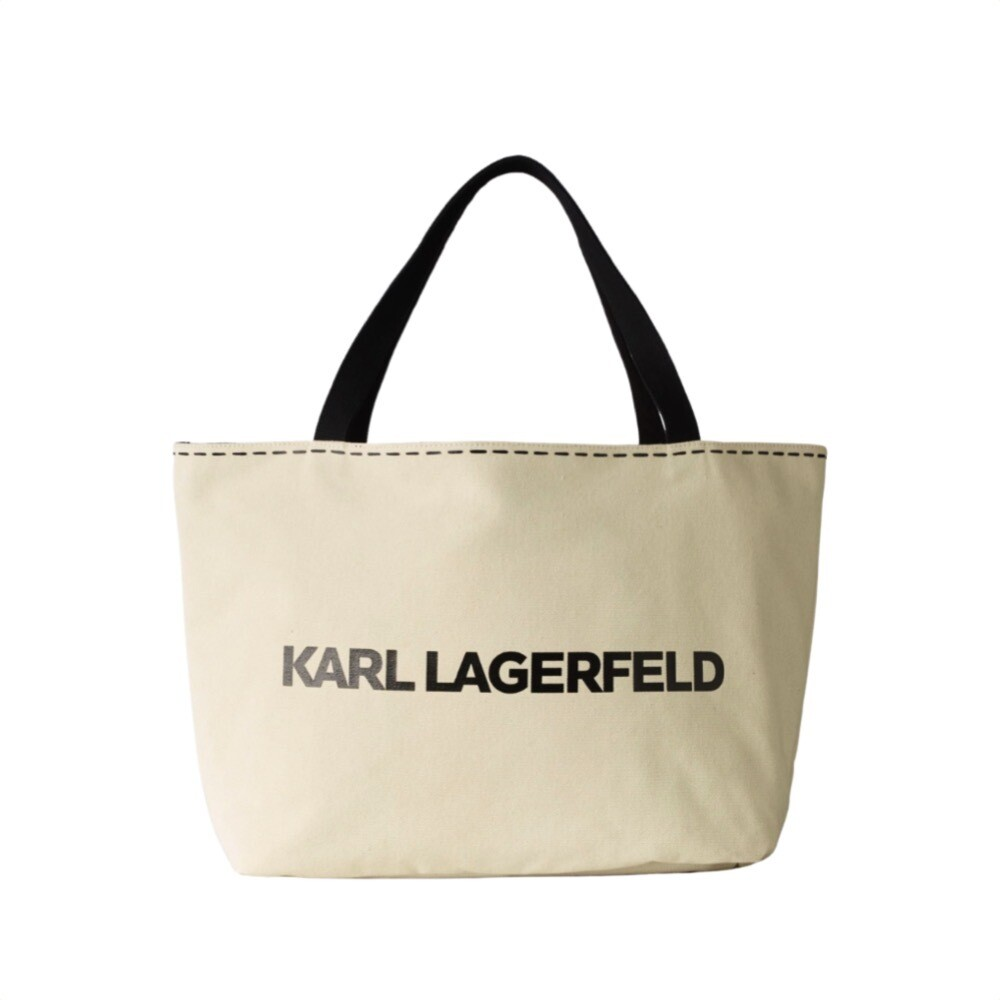 KARL LAGERFELD - K/Ikonik Tote Reversibile - Black