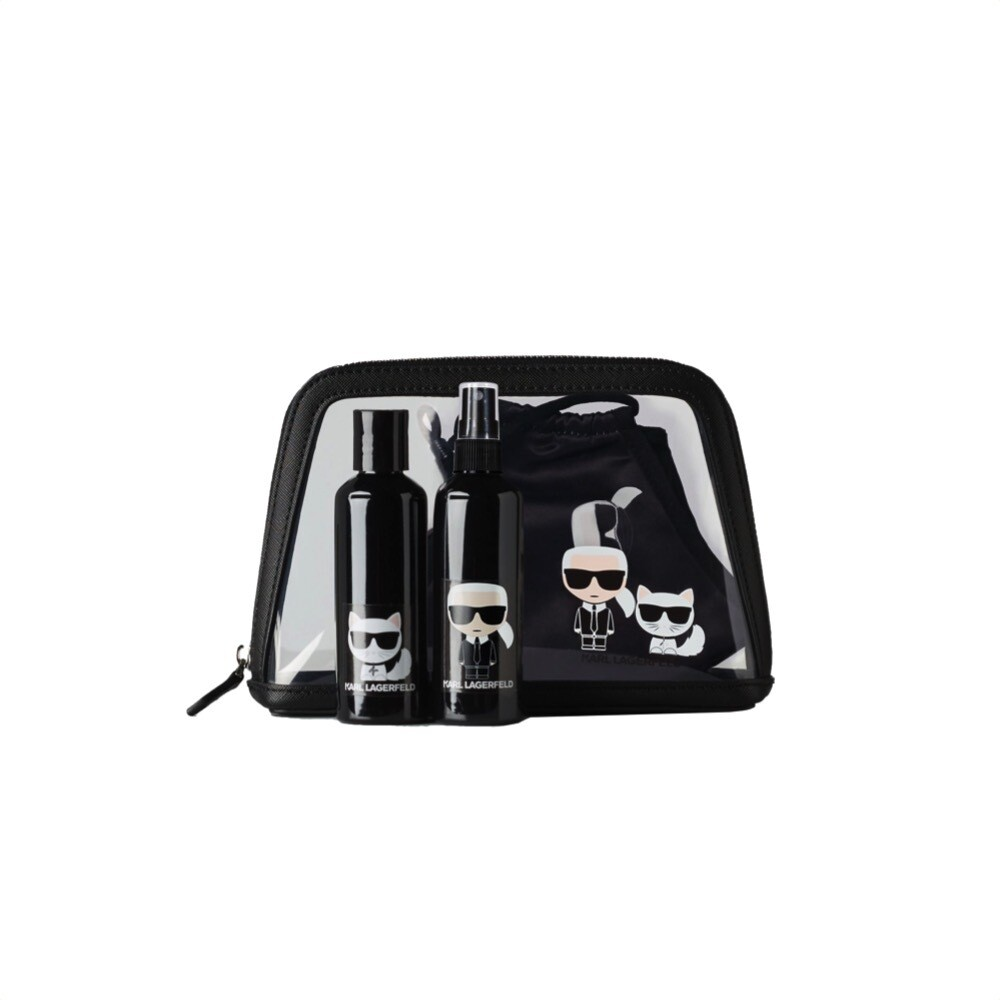 KARL LAGERFELD - K/Protect Ikonik Travel Set - Black