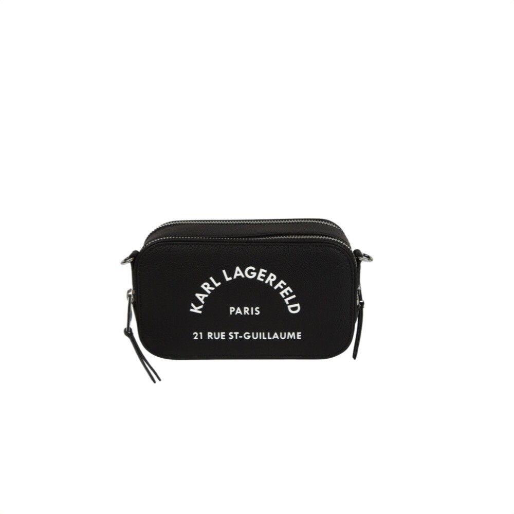 KARL LAGERFELD - Camera Bag Rue St-Guillaume - Black