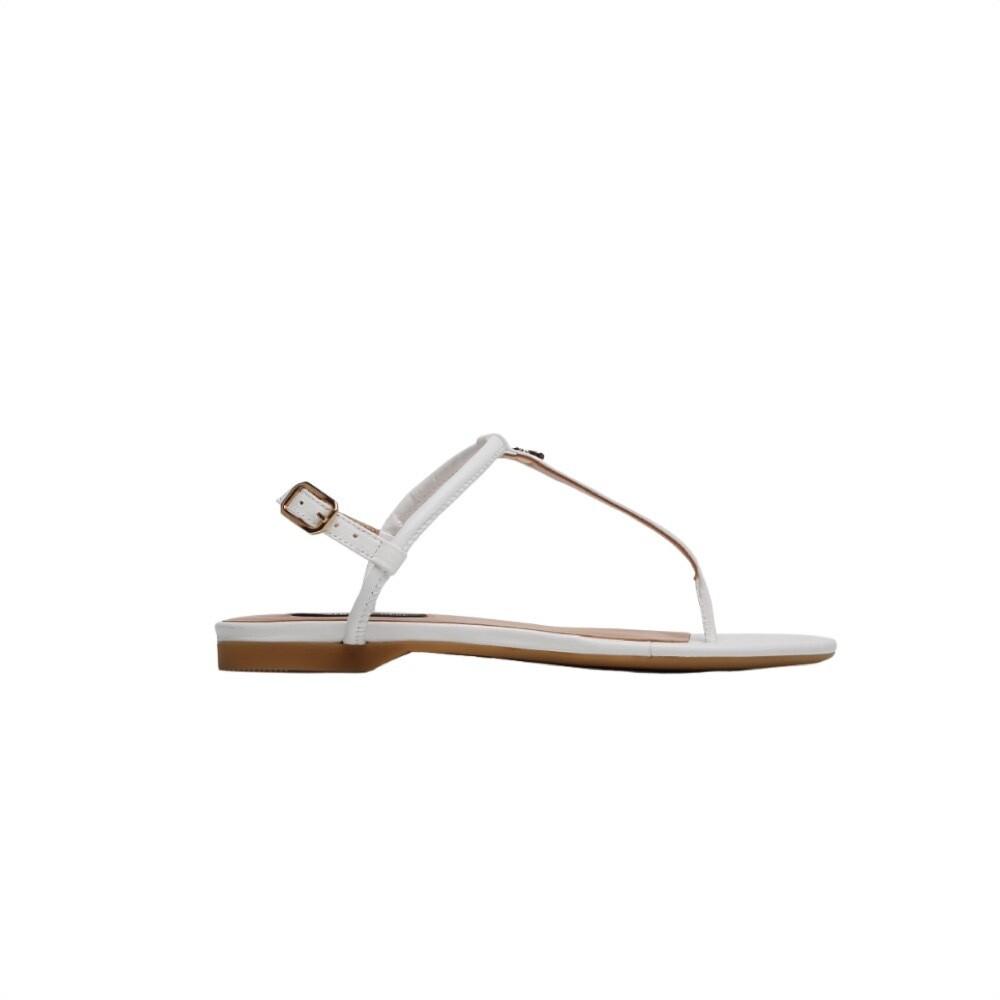 PATRIZIA PEPE - Sandalo infradito basso - Bianco