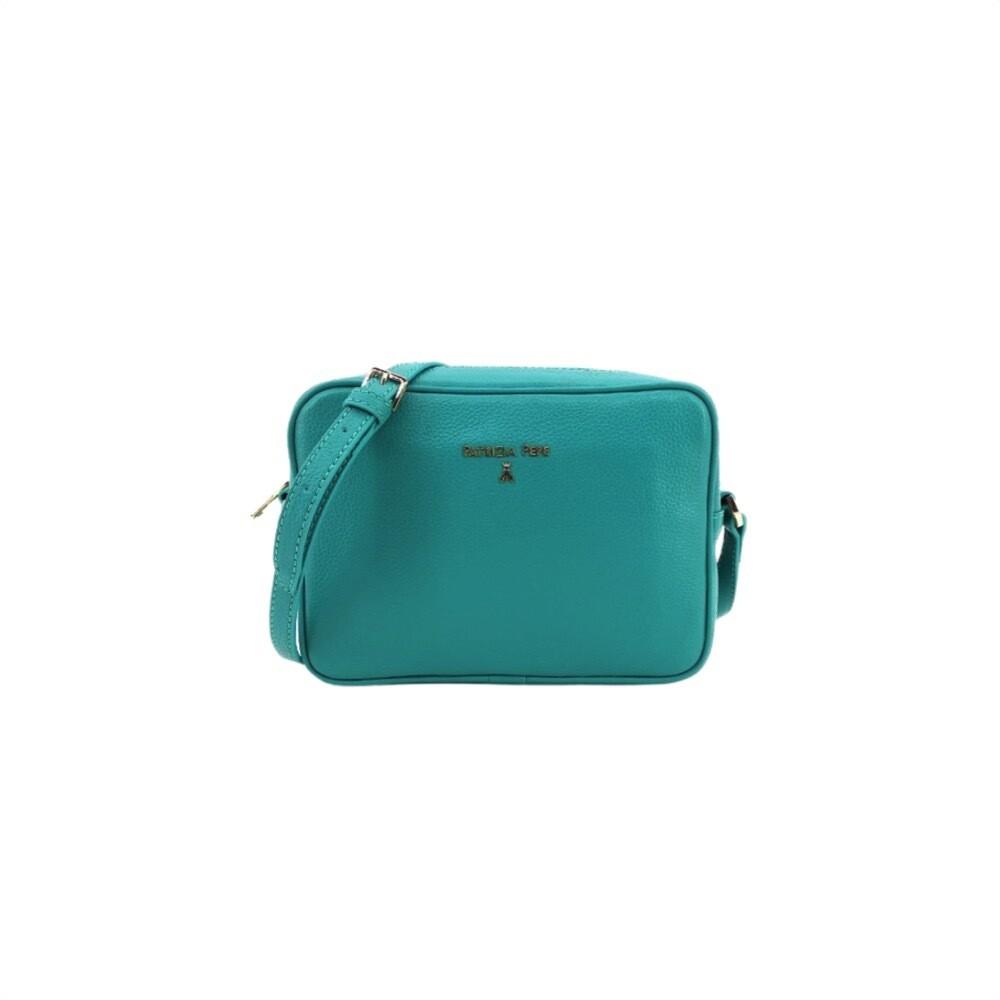 PATRIZIA PEPE - Camera Bag in pelle - Glam Green