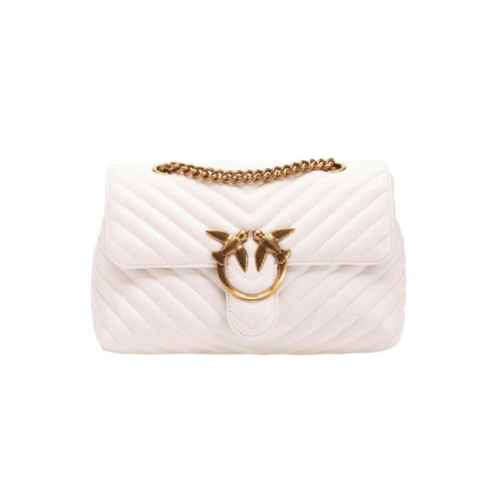 PINKO - Lady Love Bag Puff Quilt - White