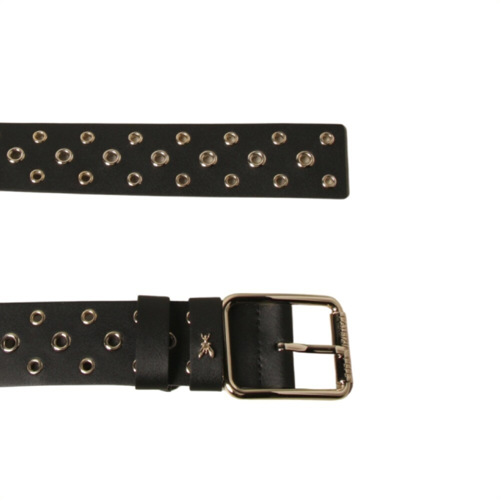 PATRIZIA PEPE - Cintura con borchie - Nero