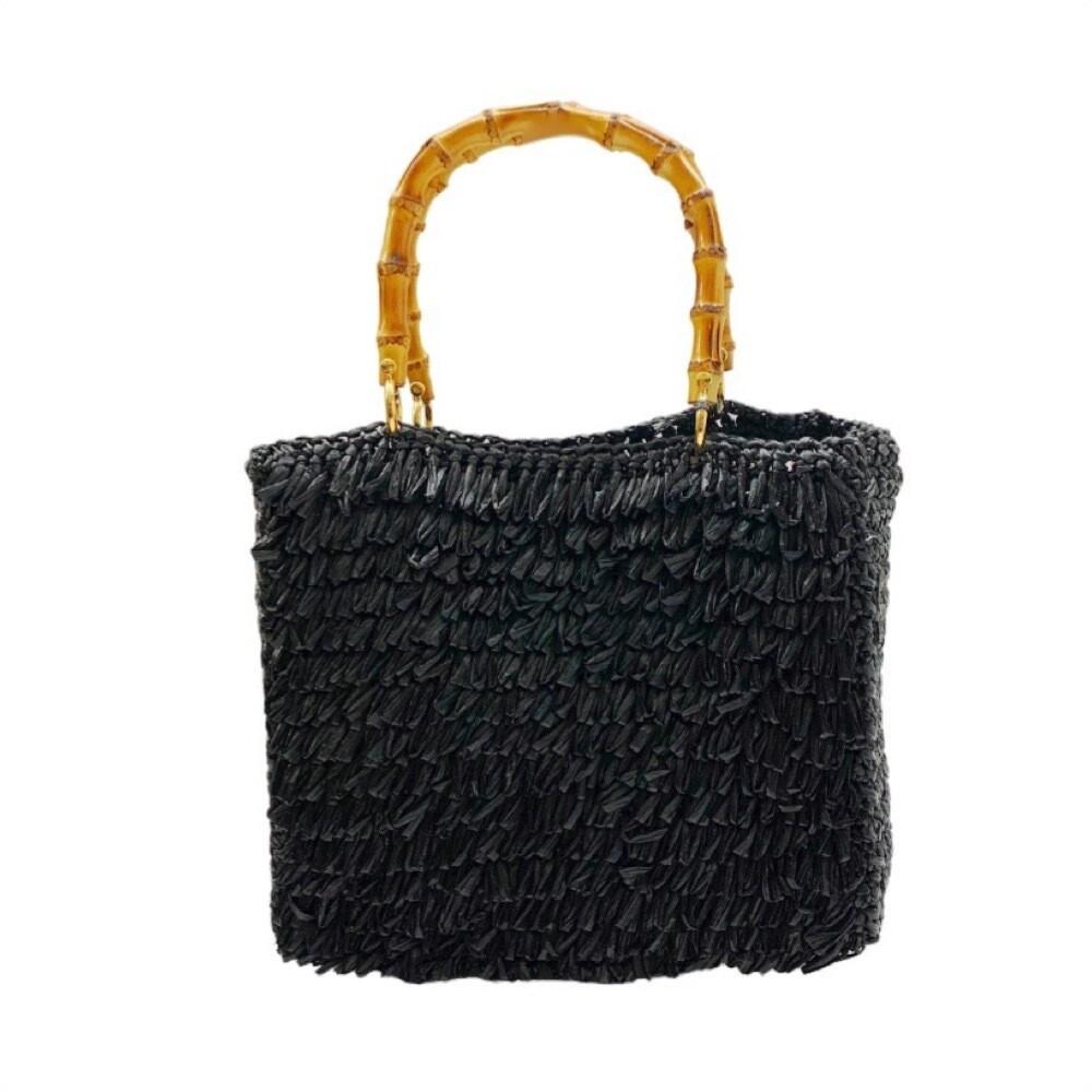 CHICA - Diamante Shopping Bag Media - Nero