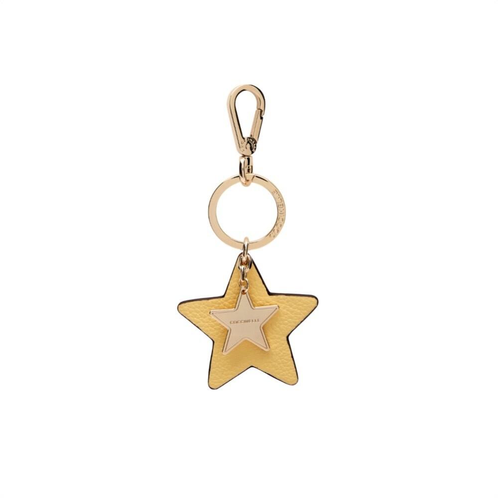 COCCINELLE - Star Portachiavi/Charm - Sorbet Yellow