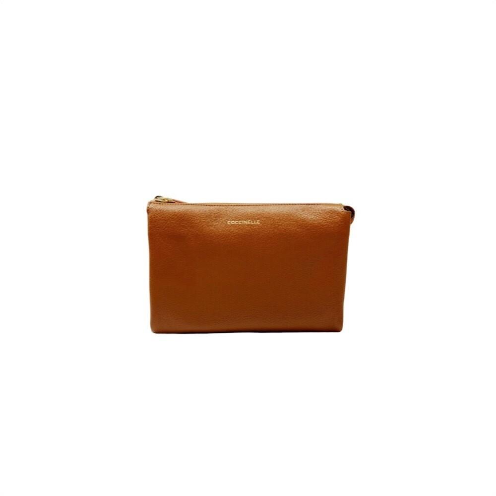 COCCINELLE - Lulu Grained Mini Bag - Caramel
