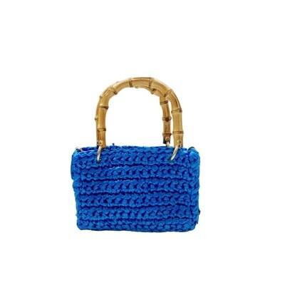 CHICA - Meteora Shopping Bag Piccola - Turchese