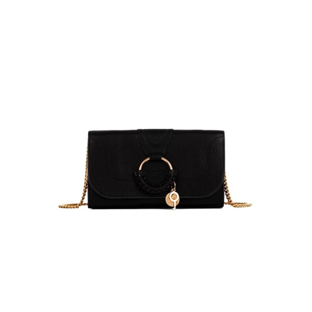 SEE BY CHLOÉ - Hana Chain Wallet - Black