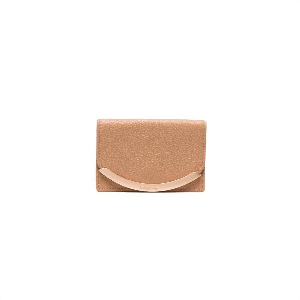 SEE BY CHLOÉ - Lizzie Portacarte - Coconut Brown
