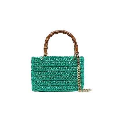 CHICA - Meteora Shopping Bag Piccola - Smeraldo