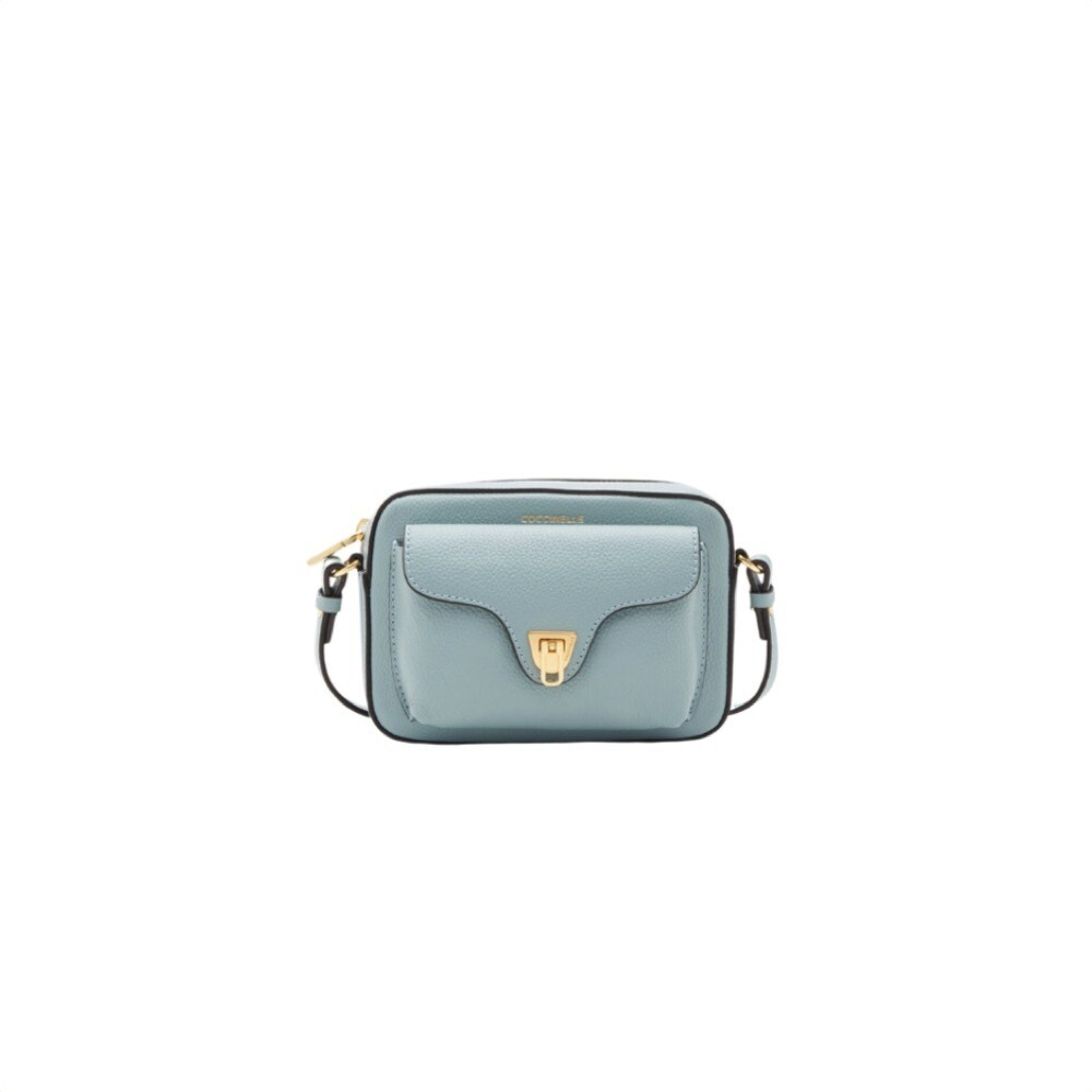COCCINELLE - Beat Soft Camera Bag Mini - Cloud