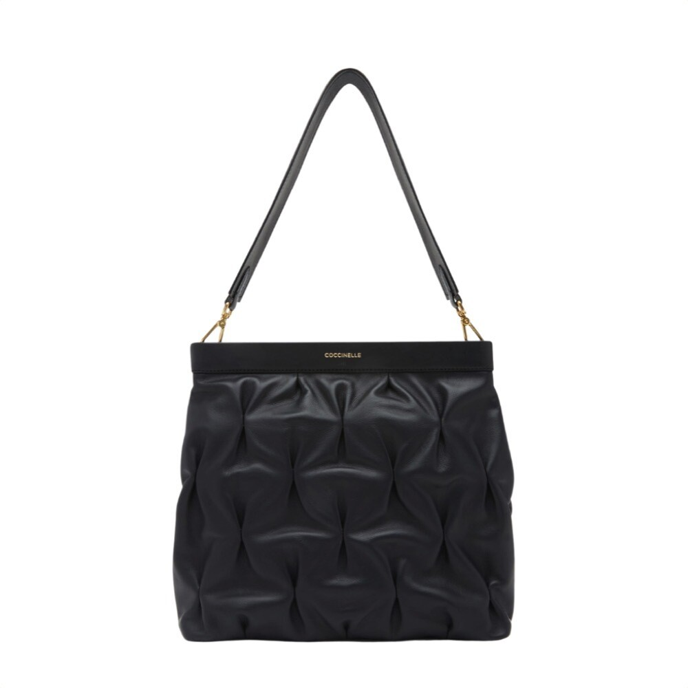 COCCINELLE - Marquise Goodie Hobo - Noir