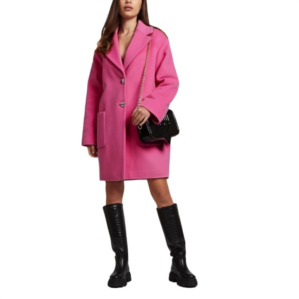 CHIARA FERRAGNI - Cocoon Cappotto - Sachet Pink
