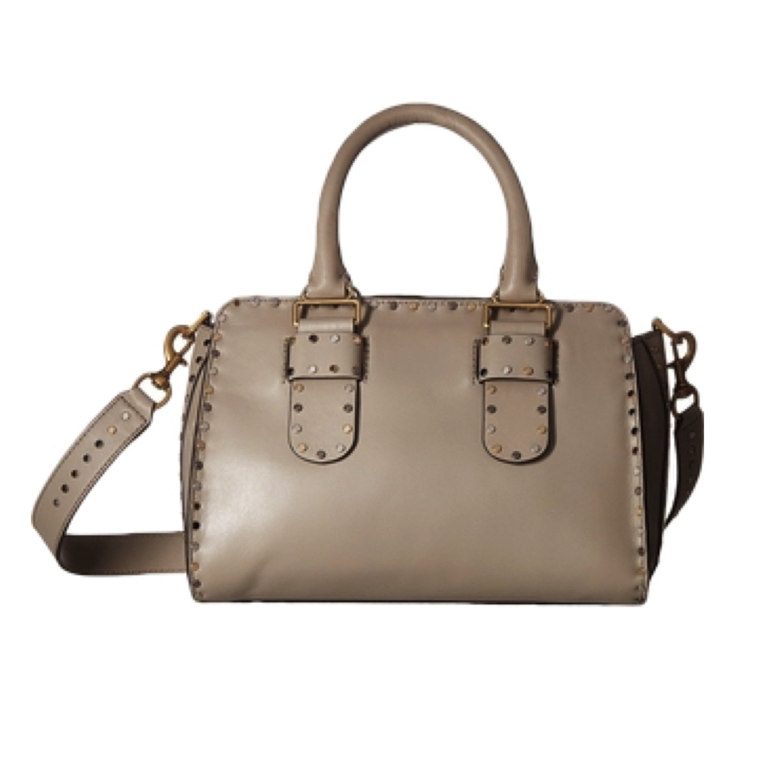 REBECCA MINKOFF - Midnighter Handbag  Large Satchel - Taupe