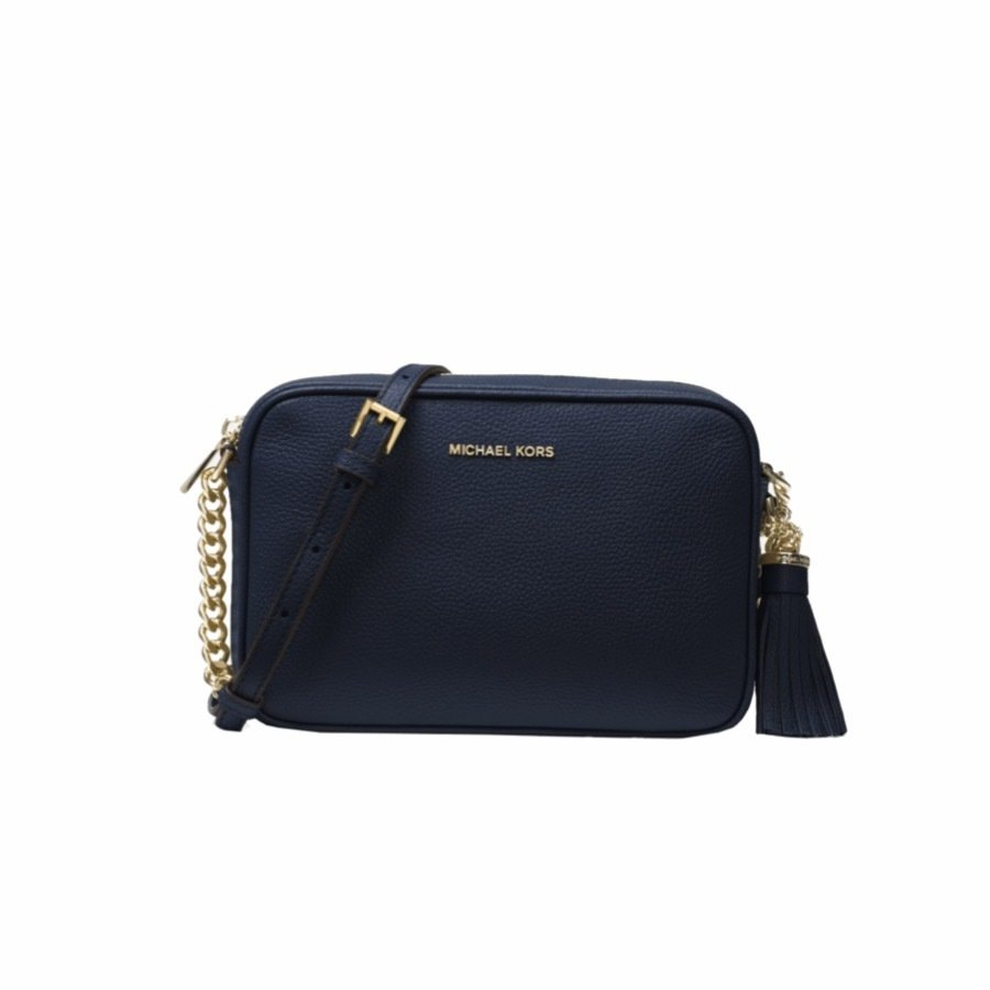 MICHAEL KORS - Tracolla Ginny in pelle - Admiral