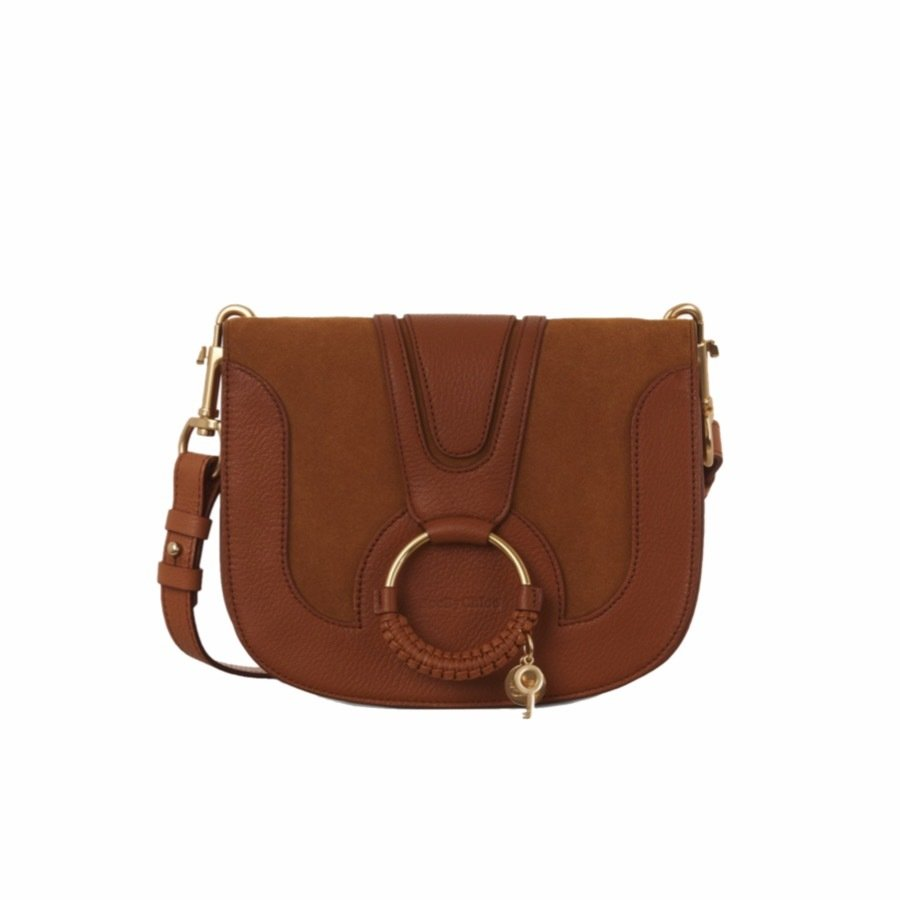 SEE BY CHLOÉ - Hana Small Crossbody Bag - Caramello