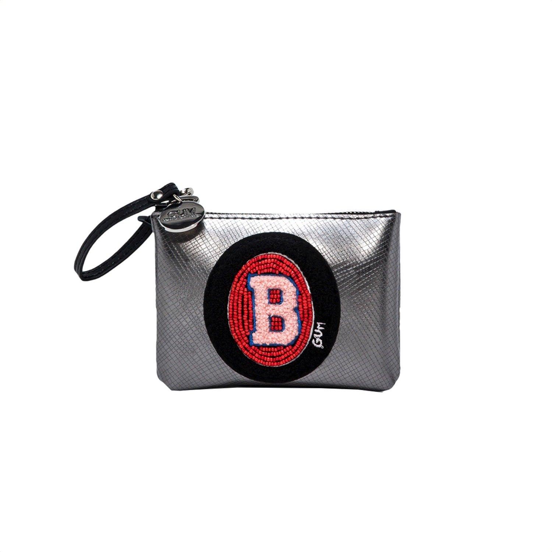 """GUM - Busta/Portachiavi con lettera """"B"""" - Iron"""