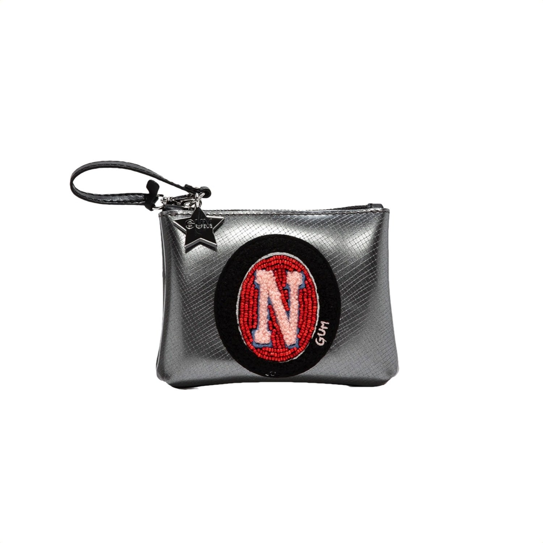 "GUM - Busta/Portachiavi con lettera ""N"" - Iron"