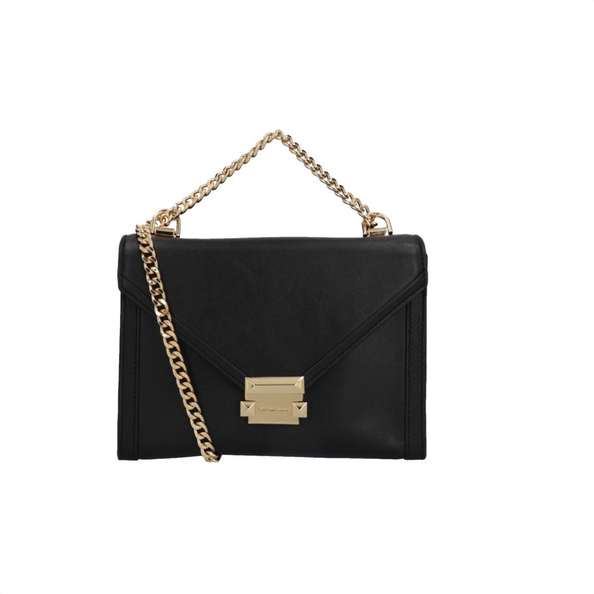 MICHAEL KORS - Whitney LG Shoulder Bag - Black