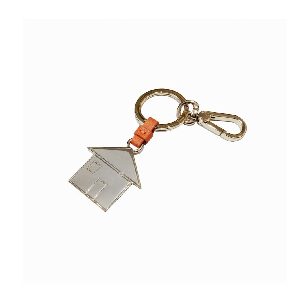 COCCINELLE - Casa Portachiavi/Charm Basic Metal - Flash Orange