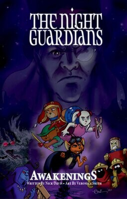 Pre-Order The Night Guardians Graphic Novel
