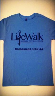 LifeWalk Mission International T-Shirt