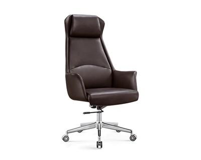 Ofix Premium-10 High Back PU Chair (Brown, Black, Grey)