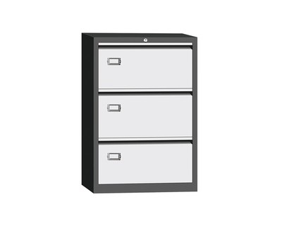Ofix Lateral Steel Filing 3 Drawer Cabinet
