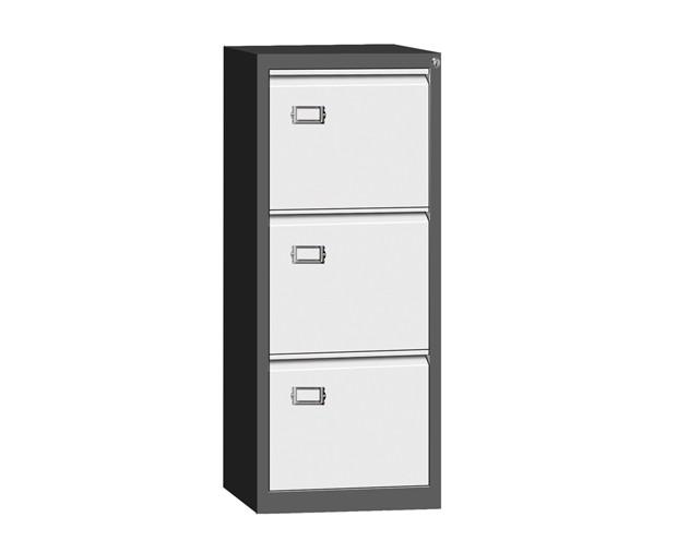 Ofix Steel Vertical Filing 3 Drawer Cabinet