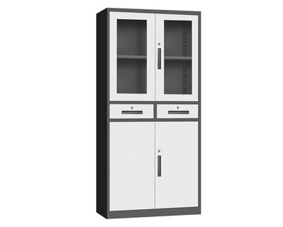 Ofix 2 Drawer Steel Cabinet