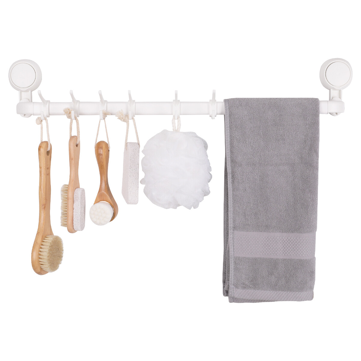 MYKE Suction Cup Towel Rack