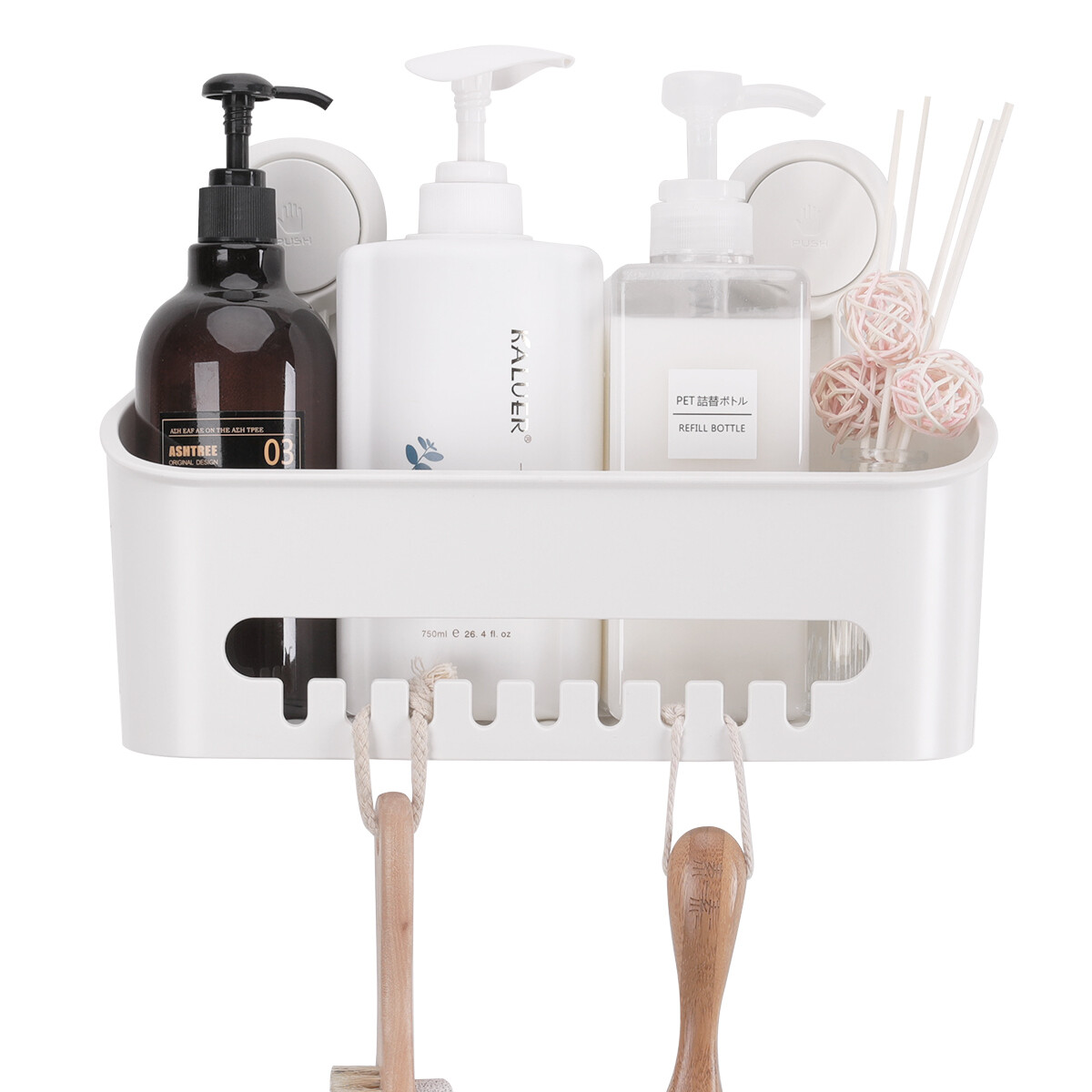 MYKE Suction Cup Shower Caddy
