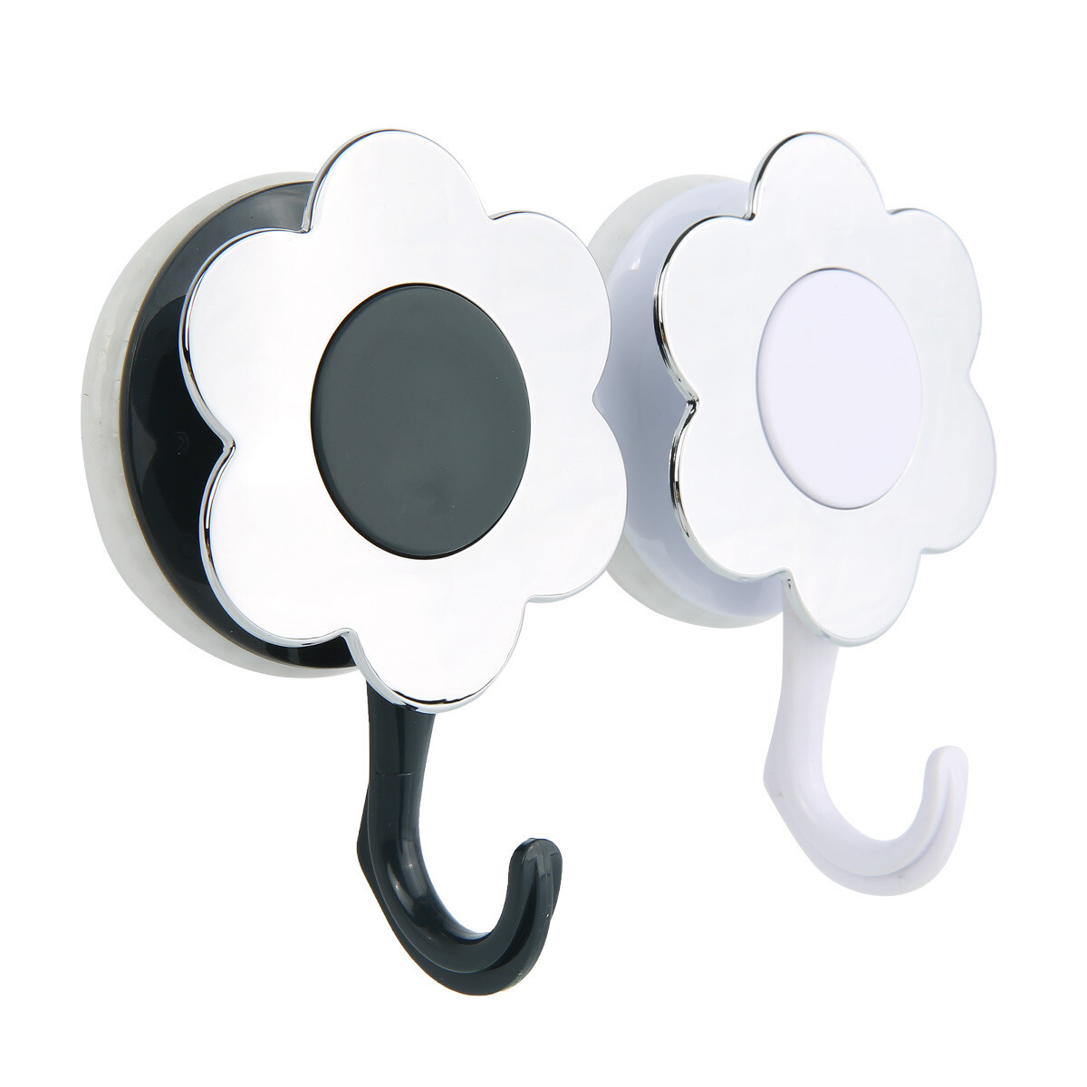 MYKE AW484 Suction Cup Flower Design Hook