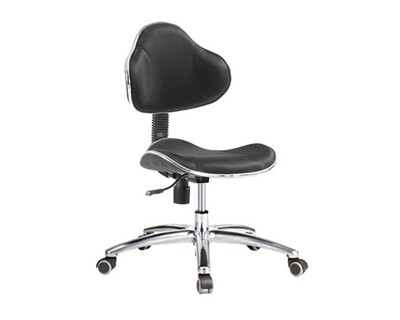 Ofix Deluxe-37 Mid Back Chair (Black)
