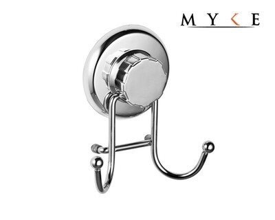 MYKE 73116-1 Suction Cup Dual Hook