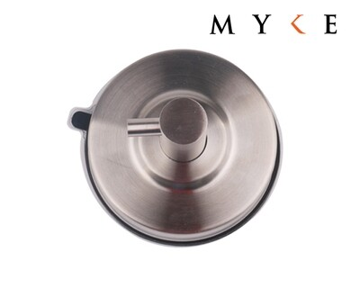 MYKE Suction Cup Stainless Steel Hook