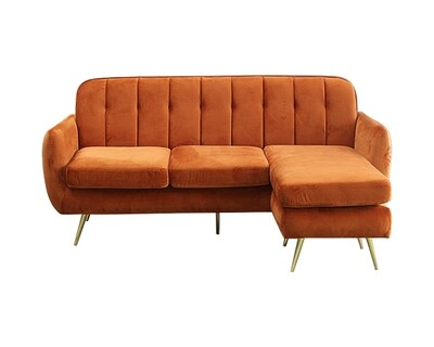 Flotti Vienna Sofa (Orange, Blue)