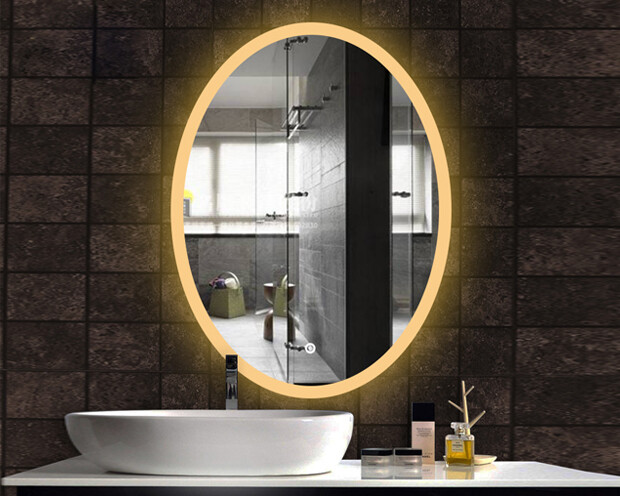 MYKE Illuminated Mirror w/ Defogger 607