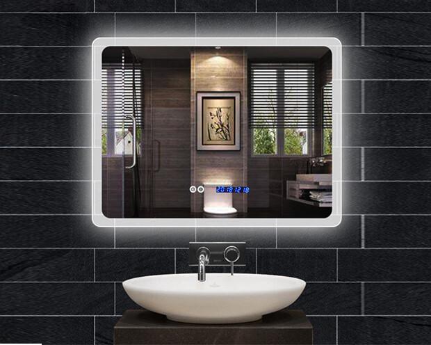 MYKE Illuminated Mirror w/ Defogger 611