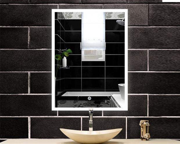 MYKE Illuminated Mirror w/ Defogger 609