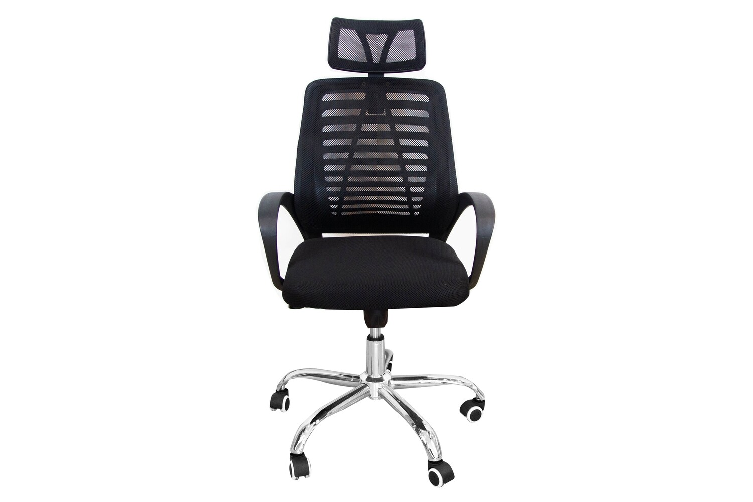 Ofix Deluxe-43 High Back Mesh Office Chair (Color: Black, Red, Grey, White+Pink)