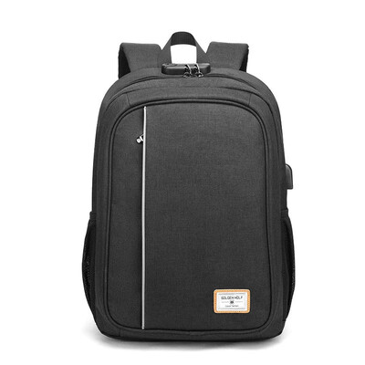 GOLDEN WOLF GB9 BACKPACK (Colors: Black, Blue, Grey)