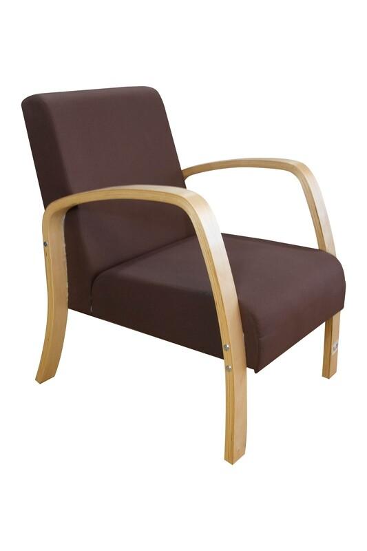 Flotti Malacca Sofa Chair (Brown)