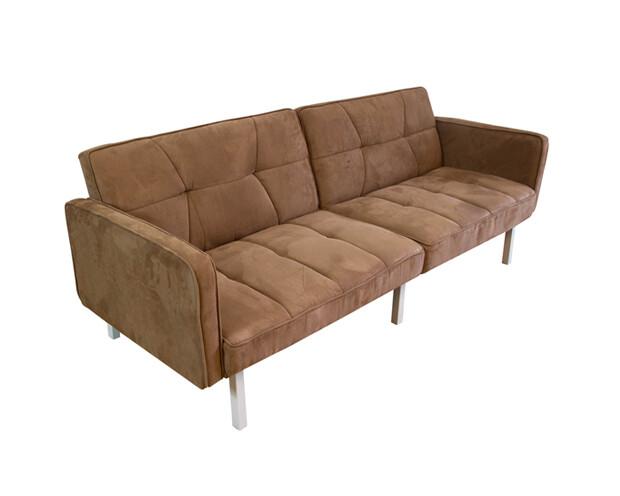 Flotti Florina Sofa Bed (Black, Light Gray)
