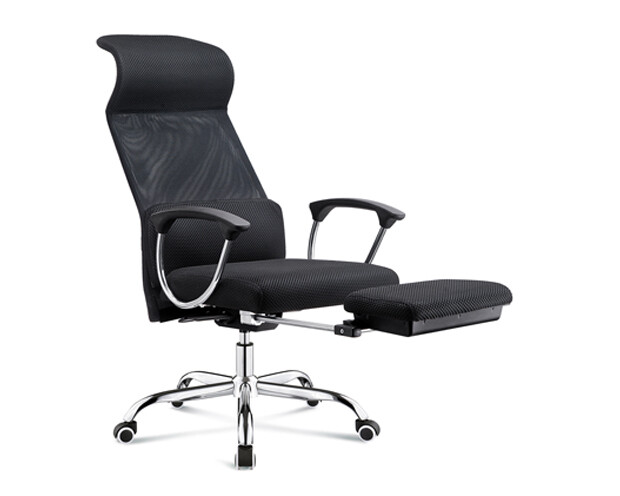 Ofix Premium-3 High Back Mesh Chair (Black)