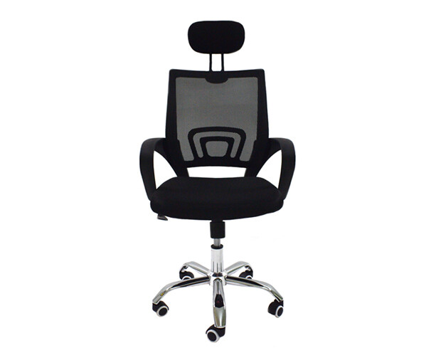 Ofix Deluxe-5H High Back Mesh Chair (Black, Red, Blue, Purple)